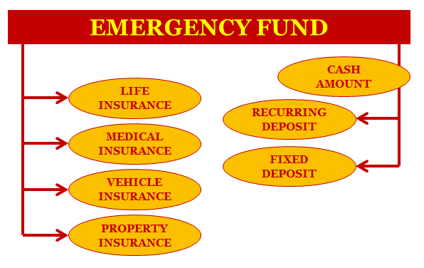 Emergency fund distribution